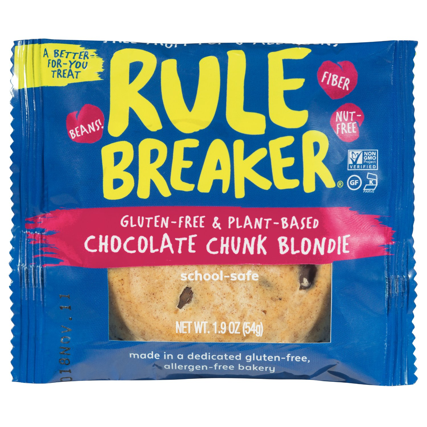 Rule Breaker Chocolate Chunk Blondie