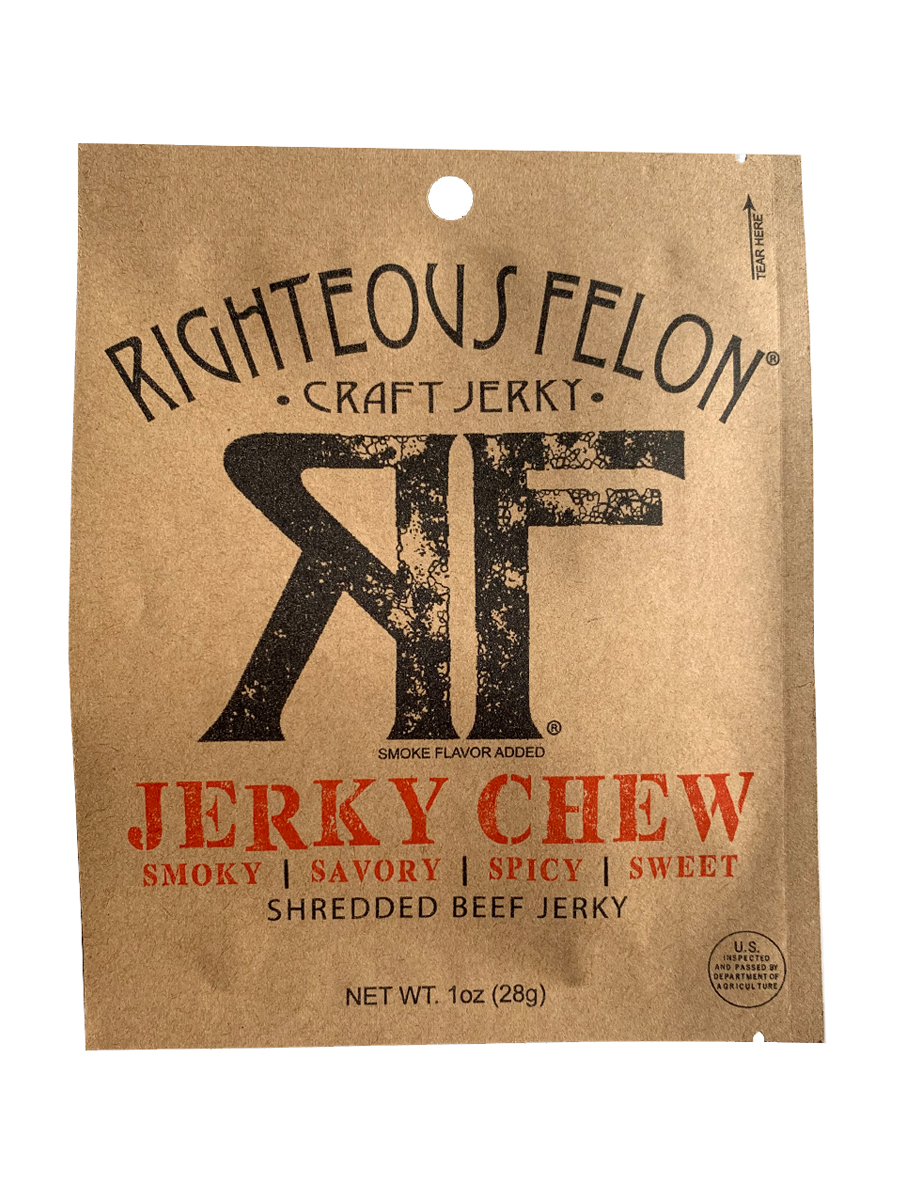 Righteous Felon Jerky Chew