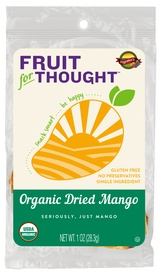 Fruit For Thought Organic Dried Mango