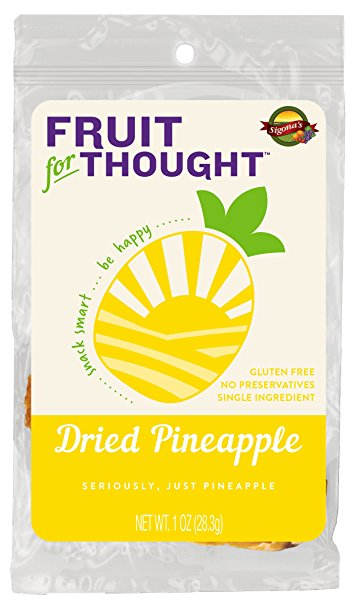 Fruit For Thought Dried Pineapple