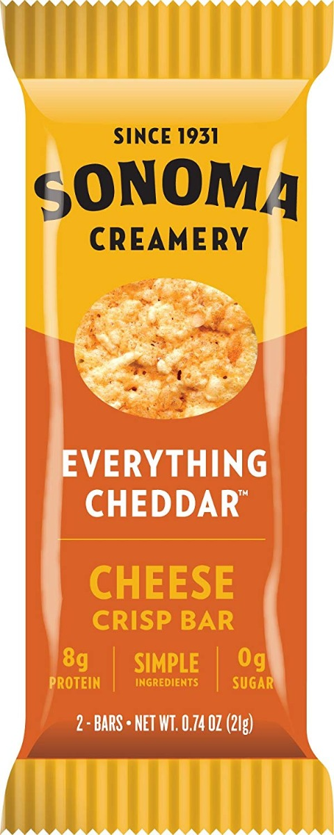 Sonoma Creamery Everything Cheddar Cheese Crisp Bar